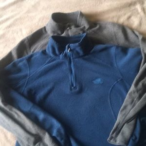 The North Face; pullover.